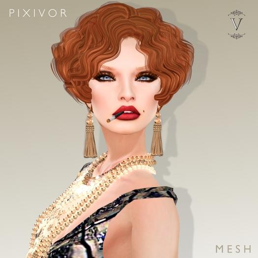 Vanity Hair: Pixivor Demo(MESH)