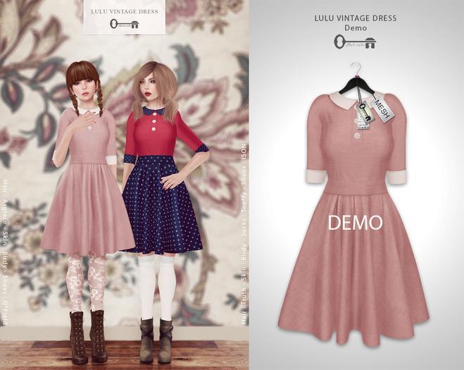 The Secret Store - Lulu Vintage Dress - DEMO