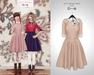 The Secret Store - Lulu Vintage Dress - Nude