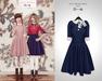 The Secret Store - Lulu Vintage Dress - Navy