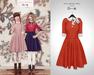 The Secret Store - Lulu Vintage Dress - Carrot