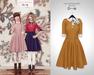 The Secret Store - Lulu Vintage Dress - Mustard