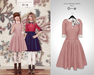 The Secret Store - Lulu Vintage Dress - Rose