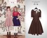 The Secret Store - Lulu Vintage Dress - Chocolate