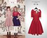 The Secret Store - Lulu Vintage Dress - Scarlet