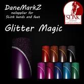 DMZ - Glitter Magic -Nail polish applier for SLink hands & feet