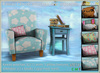Kawaii Clouds armchair and sidetable set - Mesh  *old item discount*