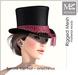 "MIAMAI_Barons top hat ""onychinus"" unisex"