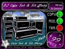 Mix 8 >> Mesh DJ Case Set * Sit Menu * 1Prim *