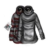 [Clearance] AITUI - Slack Hoodie - Silver HUD