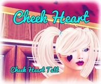 {RG} Cheek Heart Tatt