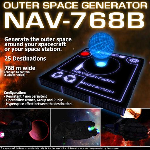 Outer Space Generator NAV-768B