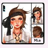 M&M-Mia coffee hair  by YHS