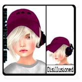 M&M-demo disillusioned girl blonde hair