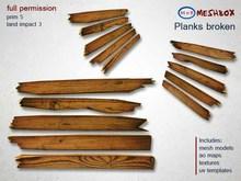 *M n B* Planks broken (meshbox)