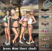 NS::  Jeans Mini short (hud)