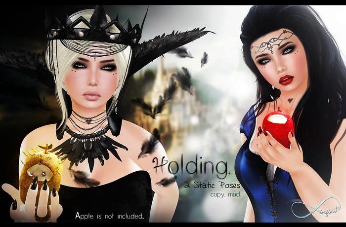 . Infiniti . - Holding - 2 Static Poses
