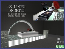 Animated DJ Booth, full permision