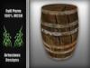 Barrel FULL PERM Mesh Artecious Designs