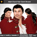 A&A Elord Hair Dark Brown (Special Color). Classical mens hair style