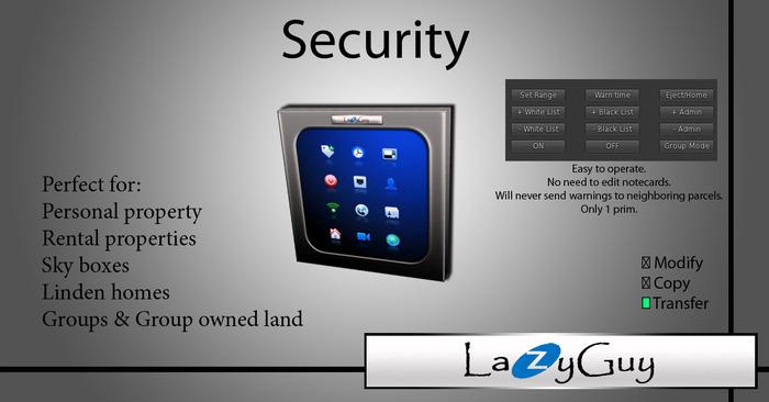 LazyGuy - Security 5.4m (English)