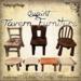 [DDD] Quaint Tavern Tables & Chairs