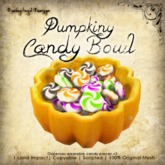 [DDD] Pumpkin Candy Bowl
