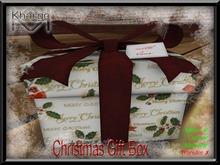 MESH CHRISTMAS GIFT BOX