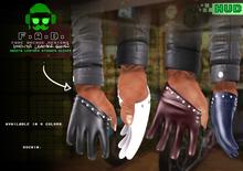 F.A.D. // Vindictus Studded 4-Finger Gloves + HUD