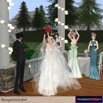 EmmePose Wedding Time: Bouquet's Launch