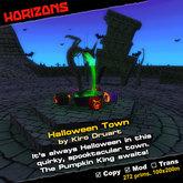 HORIZONS Scene - Halloween Town