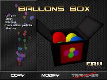 Balloons box