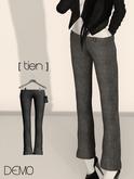 [ tien] Tweed Pants in DEMO