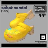 ns(3)-003 sabot sandal [005]