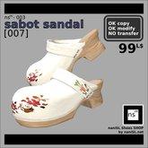 ns(3)-003 sabot sandal [007]