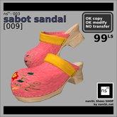 ns(3)-003 sabot sandal [009]
