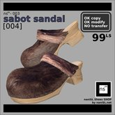 ns(3)-003 sabot sandal [004]
