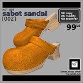 ns(3)-003 sabot sandal [002]