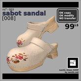 ns(3)-003 sabot sandal [008]