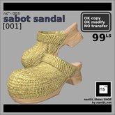 ns(3)-003 sabot sandal [001]