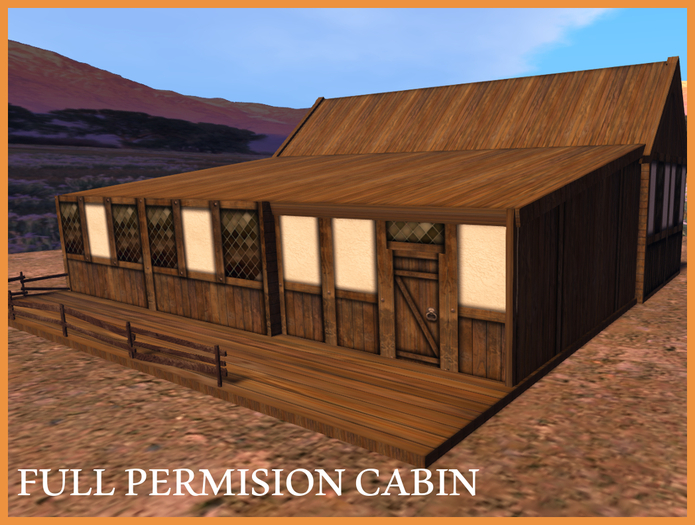 Enjoy Life Stable Cabin