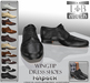 L&B - Dress Shoes - Wingtip Tuxedo Brogues