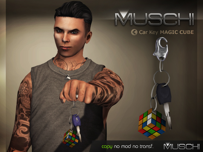 Car Key (Magic Cube) MUSCHI