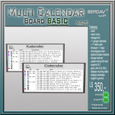BERDAVsoft Multi Calendar Board Basic 5.01