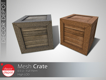 [DD] - FULL PERM  Crate    - 50% OFF -