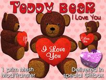 Custom Love: Teddy Bear - I Love You