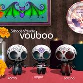 Schadenfreude vouboo: Sugar Skull 3 pack
