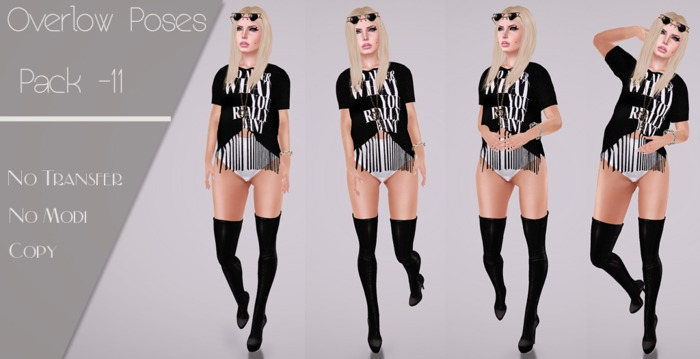 Overlow Poses - Pack 11