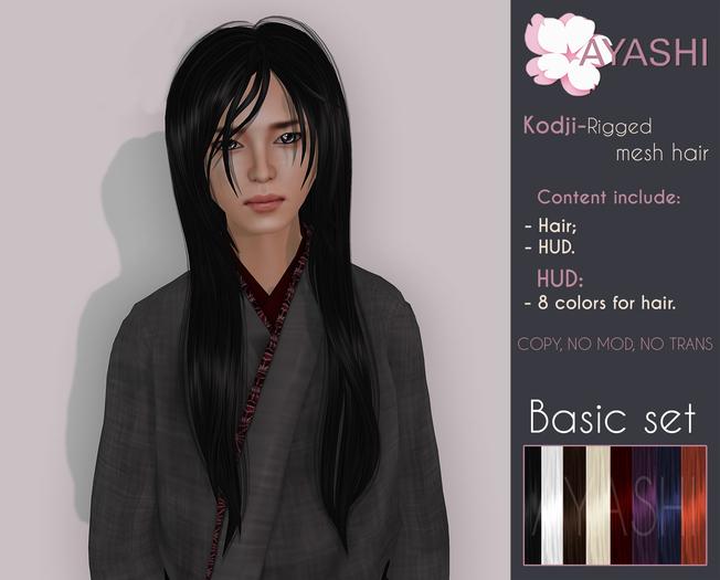 [^.^Ayashi^.^] Kodji hair-Basic set