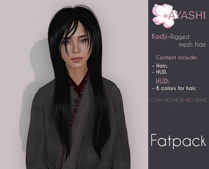 [^.^Ayashi^.^] Kodji hair-Fatpack